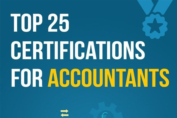 Top  Certifications For Accountants Infographic