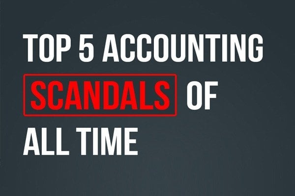Top  Accounting Scandals Of All Time Infographic