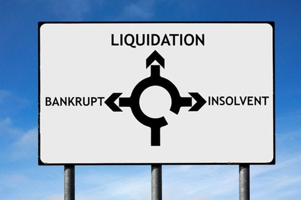 Process of liquidating a business
