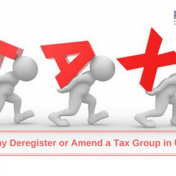 tax deregistration