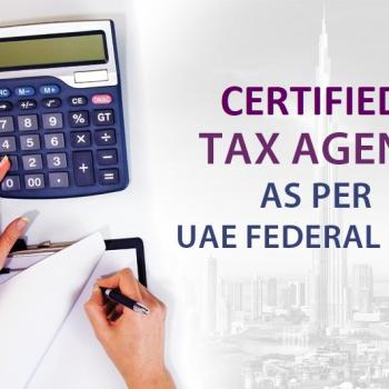 certified Tax agent uae