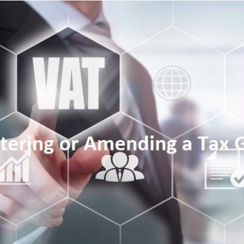 Amending a Tax Group