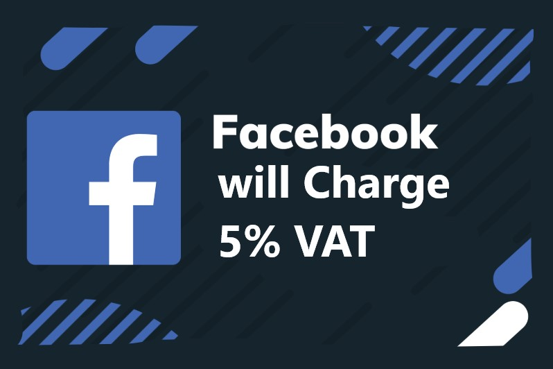 5% vat on facebook ads